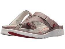 Allrounder by Mephisto Tokara Red Jeanstyle Women's Slide On Sandals Sz 41/11 M