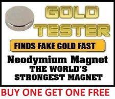 Neodymium Rare Earth Magnet for Testing Scrap Gold, -10mm