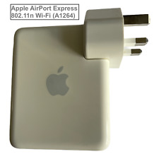 Genuine Apple AirPort Express 802.11n Wi-Fi (A1264) + Ethernet Cable