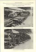 1915 102 Inch Papermaking Machine At Carrongrove