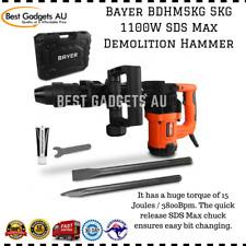 Bayer Bdhm5kg 5kg 1100w SDS Max Demolition Hammer