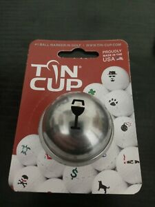 Tin Cup Golf Ball Marker Napa Valley Wine Glass