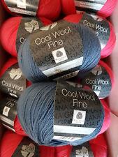 Lana Grossa Cool Wool Fine Wollpaket (550 g./11 Knäuel), Inhalt Fb. 11,33,35