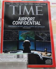 Time Magazine March 3, 2014 Airport Confidential Brand New Condition Fast Ship