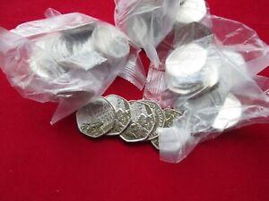 NEW 20 x 2019 Paddington at the Tower 50p Coins UncirculatedIn Sealed Bank Bag