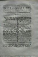 1794 RARA RIVISTA SU VINO TOCAI, FABBRICAZIONE SAPONE, ARTE DEL CARBONAIO...