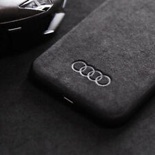 Motorsport Rings Logo Faux Suede Alcantara Car iPhone Case Cover FAST DELIVERY!