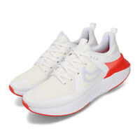 Nike Wmns Legend React 2 White Blue Red Womens Running Shoes AT1369-101