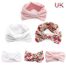 3pcs Newborn Headband Ribbon Elastic Baby Headdress Kids Hair Band Girl Bow Knot