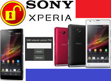 SONY UNLOCK CODE FOR ( ANY CARRIER ANY SONY PHONE MODELS ) WORLDWIDE