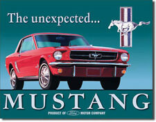 Expect the Unexpected Ford Mustang 1964-1999 Metal Sign