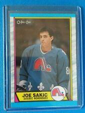 1989-90 O-Pee-Chee Rookie RC #113 Joe Sakic Quebec Nordiques