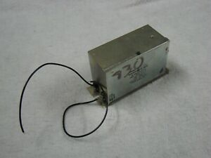 General Electric High Voltage Transformer  115AC to 7500DC at .55MA