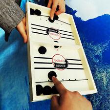 Fast slingshot ice hockey game rhythm SlingPuck board game fun toy family games