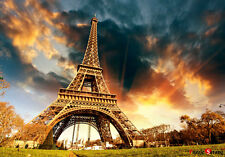 Jigsaw Puzzle The Eiffel Tower Twilight in Paris 1000 by KOREA Kyerimbooks 1026
