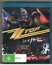 BLU-RAY ZZ TOP LIVE AT MONTREUX 2013 NEW Plus Bonus Material