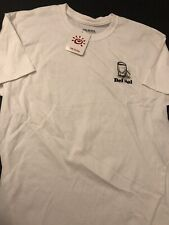 """Del Sol Color Changing T-Shirt Men's Size Large White New Tags """"Cocktails"""""""