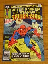 SPIDERMAN SPECTACULAR #35 VOL1 MARVEL COMICS OCTOBER 1979