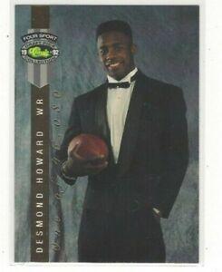 1992 CLASSIC FOUR SPORT MULTI-SPORT FOOTBALL LPS INSERT SINGLES