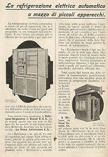 W6003 Frigoriferi Kelvinator - Pubblicità 1929 - Advertising