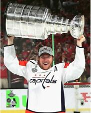 Nicklas Backstrom Washington Capitals Hoists Stanley Cup 8x10 Photo