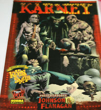 Karney (2005). Bryan Johnson, Walter Flanagan (Kevin smith)_Libro Cómic