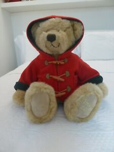 2003 HARRODS Christmas Teddy Bear 30cm.