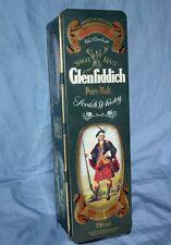 Glenfiddich Pure Malt Scotch Whiskey Empty Tin Clans Of The Scottish Highlands