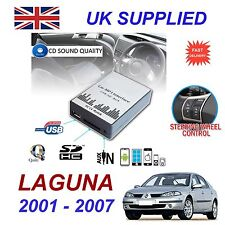 RENAULT LAGUNA MP3 SD USB CD haut-parleur Entrée Audio Adaptateur digitalcd