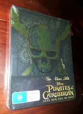 Pirates of the Caribbean: Dead Men Tell No Tales (Blu-ray Disc, 2017, Steelbook)