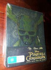 Pirates of The Caribbean Dead Men Tell No Tales Steelbook - Ltd Edition Blu-ray