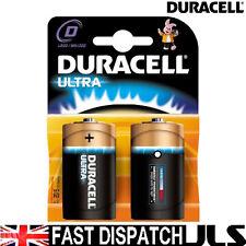 2 x DURACELL ULTRA Size D Batteries LR20 MX1300 MN1300