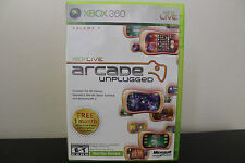 Xbox Live Arcade Unplugged, Vol. 1  (Xbox 360, 2006) Assassin's Creed II  (Xbox