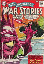STAR SPANGLED WAR STORIES #120 (1965) DC Comics 1st Caveboy & Dino  VG+/FINE