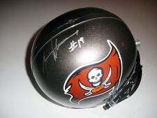 MIKE WILLIAMS AUTOGRAPHED FULL SIZE RIDDELL HELMET TAMPA BAY BUCCANEERS NFL