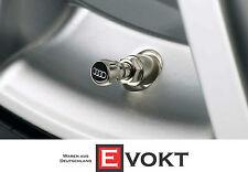 Audi Q7 Valve Caps Set Audi Logo 4 Pieces Valve Caps Genuine New