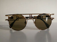Cazal Vintage Eyeglasses - NOS - Model 958 - Col. 33- Gold & Marble Brown