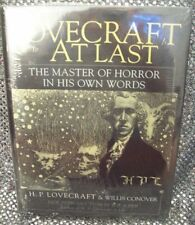 LOVECRAFT AT LAST: MASTER OF HORROR IN HIS OWN WORDS-WILLIS CONOVER- NEW&SEALED