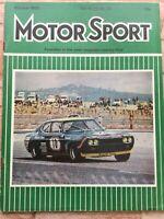Motor Sport Magazine - October 1972 - Granada GXL, MG Midget, Vauxhall Firenza