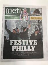 Philadelphia Eagles Metro Newspaper! Super Bowl LII Parade 2/9/18