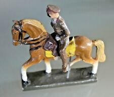 Soldier Old Durso Composition Leopold 3 King of Belgian to Horse 1930