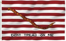 3x5 Dont Tread on Me Gadsden Flag First Navy Jack Tea Party FAST USA SHIPPING