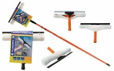3.5M TELESCOPIC CONSERVATORY WINDOW GLASS CLEANING CLEANER KIT WITH SQUEEGEE 3.5