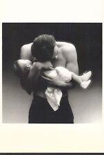 Shirtless Male & Child POST CARD Dominique ISSERMANN pour MAUD FRIZON - été 1986