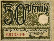 Ro 791 50 Pfennig 1919 Danzig