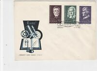 Poland 1959 Scientists/biology Books slogan Cancel FDC Stamps Cover ref 22986