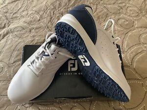 Footjoy ARC Golfschuh Gr. 45/ Weiß/Blau. .. Neu,
