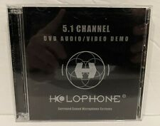 Holophone 5.1 DVD / Audio Surround Sound Demo Disc (2 Disc, 2004, Rising Sun)