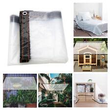 Gewächshaus Folie Mit Ösen Plane Wasserdichte Kunststofffolie Transparente