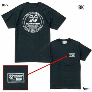 Mooneyes Japan 35th anniversary black t-shirt size L hot rod kustom dragster